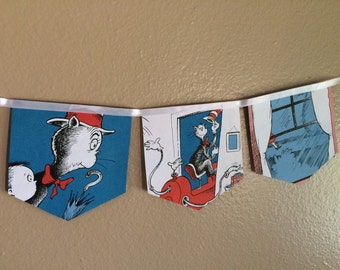 The cat in the hat banner
