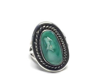 Native American Navajo Sterling Silver Ring Size 6