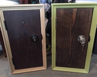 Fairy door custom wall cabinet (locking)