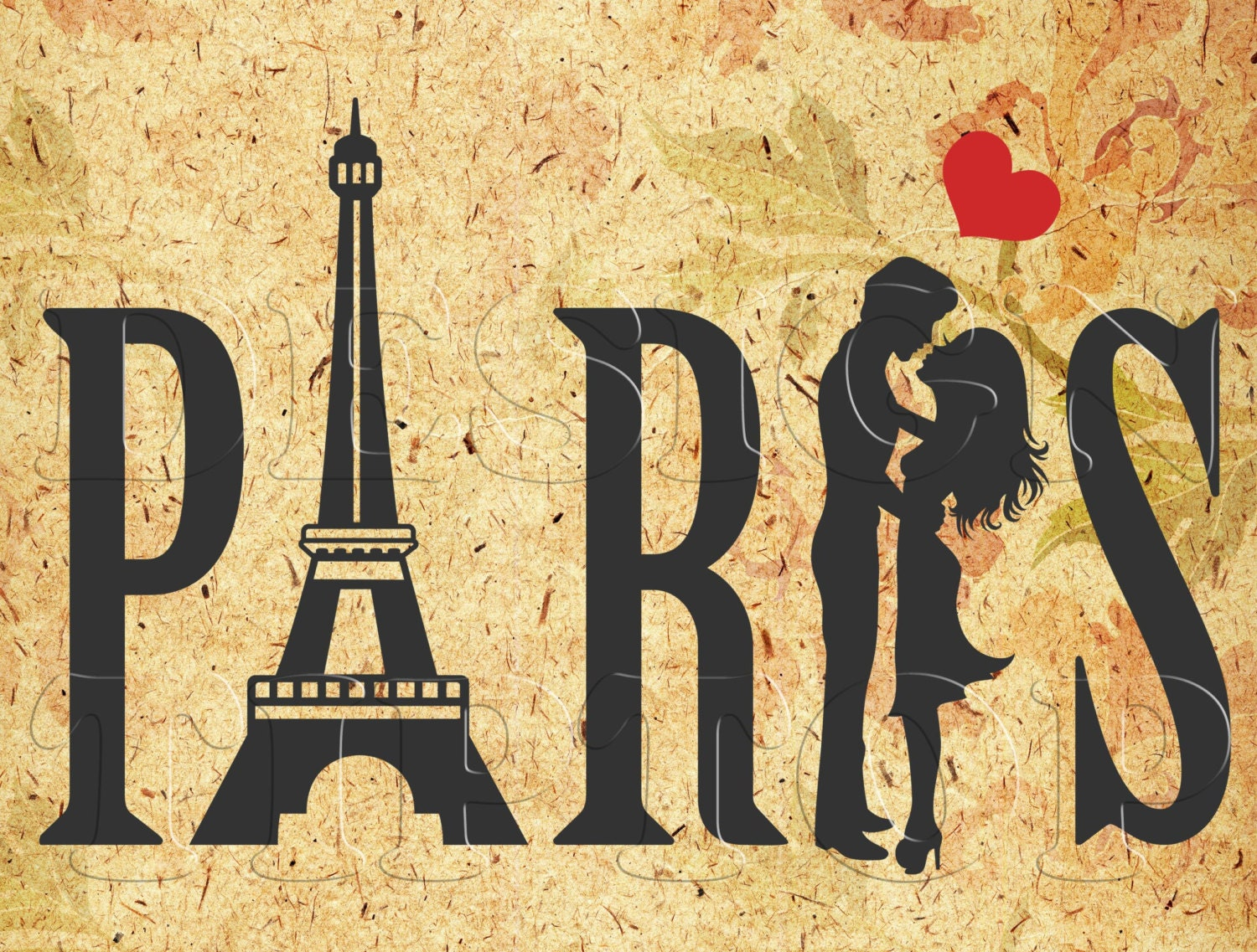 Paris SVG Love symbol Eiffel tower dxf png eps sdr