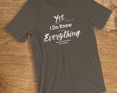 Veteran T Shirt I Know Ev...