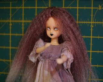 Custom OOAK Licca doll with handmade dress