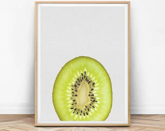 Kiwi Print, Kiwi Art, Kitchen Print, Kitchen Wall Decor, Minimalist, Modern Wall Art, Peekaboo, Printable Art, Photography Print, F01