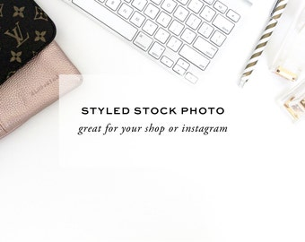 Styled Stock Photography - Corporate Desk