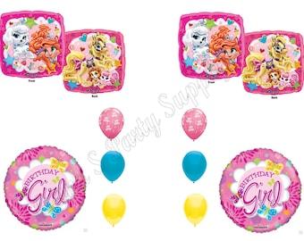 DISNEY PRINCESS PALACE Pets Birthday Girl Balloons Decoration Supplies Party