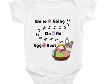 We're Going On An Egg Hunt Easter Infant Bodysuit