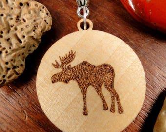 Caribou pendant