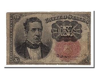 united states 10 cents 1863 km #3349 1863-03-03 vf(20-25)