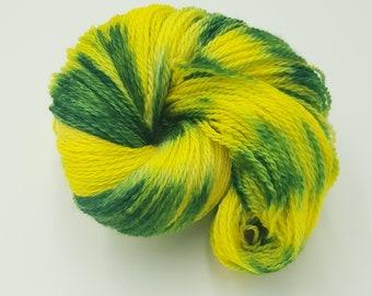 Hand Dyed 4ply Falkland Merino Wool - Daffodil