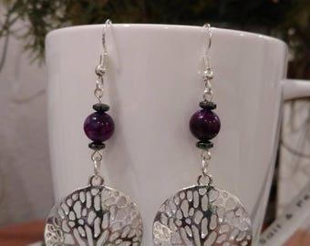 """Beautiful """"Tree of Life"""" earrings"""