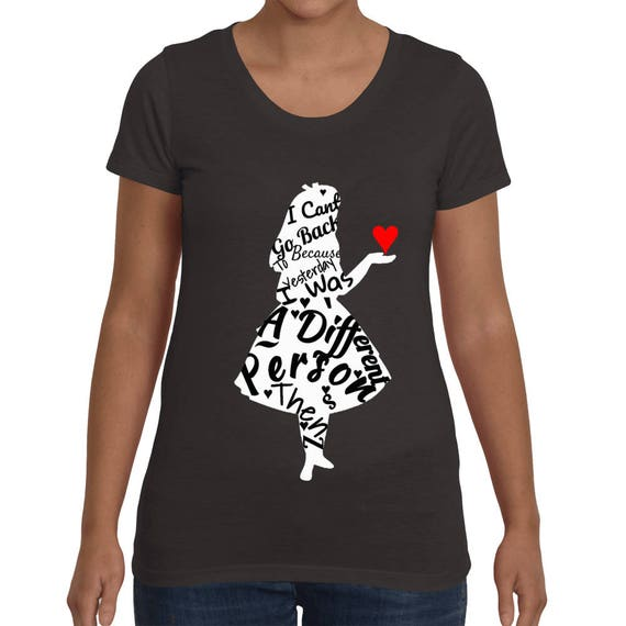 Alice in wonderland Women's short sleeve t-shirt
