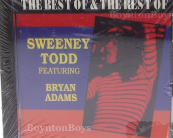 Sweeney Todd The Best of & The Rest Bryan Adams CD Album (UK Import) Rare NEW