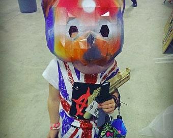 Teddy Bear Paper Mask