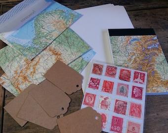 Maps (stationery set)