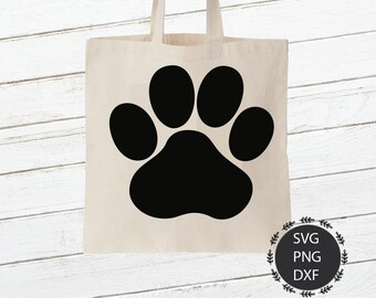 Pet Paw Print SVG, Paw Print Svg, Pet Paw Png, Dog Svg, Pet Svg, Paw Svg, Dxf, For Cricut, Silhouette Cut Files