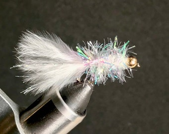 Crystal Woolly Bugger - Bead Head and Traditional Woolly Bugger - Multiple Sizes Available - Fly Fishing Fly - Trout Fly - Bass Fly