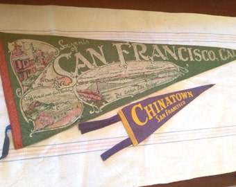 1930's San Francisco Pennants