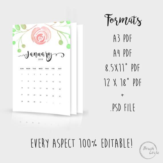 Schön 18 Monats Kalendervorlage Zeitgenössisch - Entry Level Resume ...