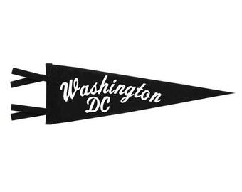 Felt Pennant - Washington DC