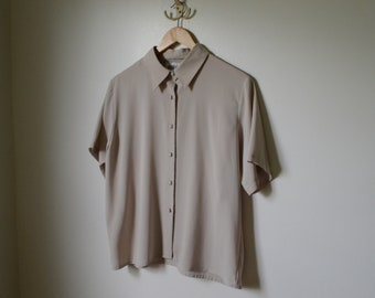 Yves St. Clair Vintage Short Sleeve Blouse