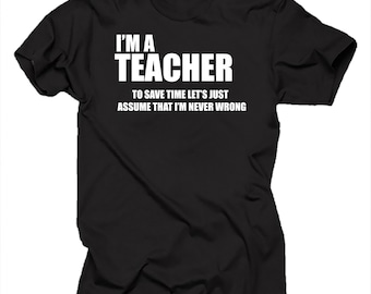 Teacher T-shirt Teacher shirt Gift for Teacher School shirt