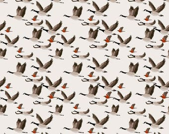Fabric design, migratory birds
