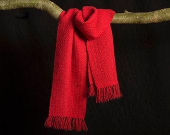 Sjaal handgeweven van Alpacawol