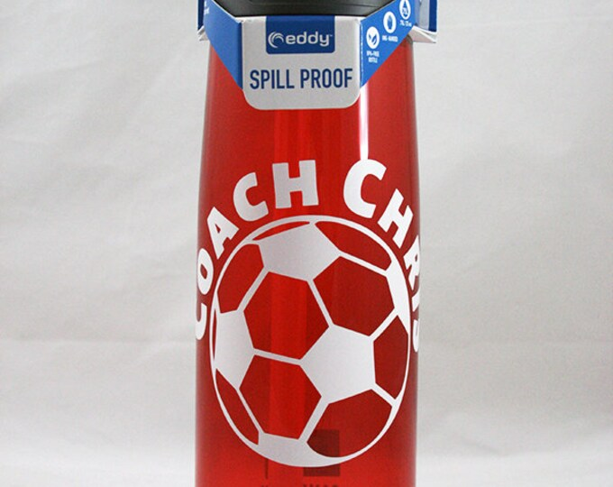 Personalized .75L CamelBak® Bottle - Soccer Ball & Name - Can Be Customized - Water Bottle - Hydrate - Custom - Bottle - Hydrate Bite Valve