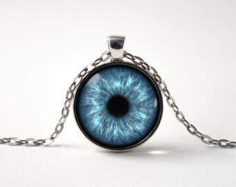 Eye necklace eyeball necklace eye jewelry third eye eye pendant human eye blue eye necklace eye jewelry blue eye pendant gift idea eye jewellery aloadofball Choice Image