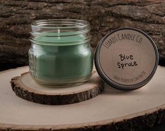 4oz Soy Candle - Blue Spruce