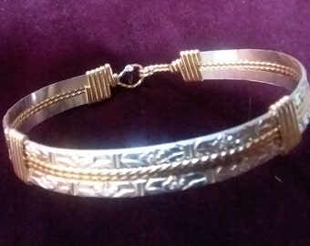 Sterling Silver and 14K Gold-Filled Bracelet