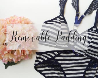 Add Removable Padding to a Bralette
