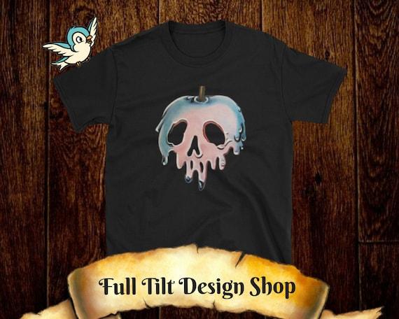Disney Snow White Poison Apple Short-Sleeve Unisex T-Shirt