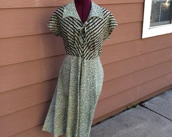 Handmade 40s style dress