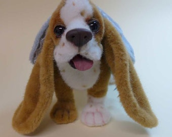Basset hound sew you own. Ebook with 112 pages instruction and pattern