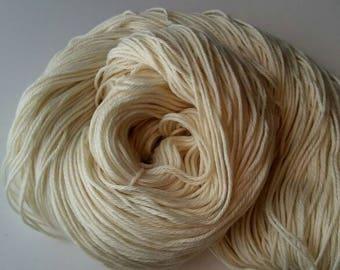 Superwash Merino- Worsted Weight Yarn - BIG Skeins- Yarn Destash - Undyed