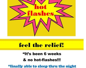 hot flashes RELIEF!