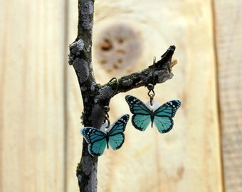 Butterfly complements, Butterflies Earrings, Butterfly, Butterfly Jewelry, Gifts for her, Insect Jewelry, Bug, Colourfull Butterflies