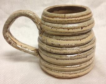 Funky grooved mug