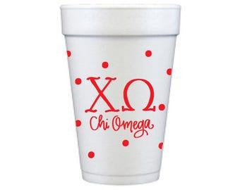 Chi Omega Dots (Qty 12)