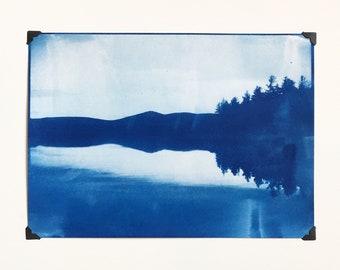 Noyes Pond - Blue