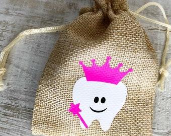 Tooth Fairy Bag-Princess Tooth