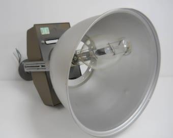 Vintage Metal Industrial Flood Stage Light / Lamp