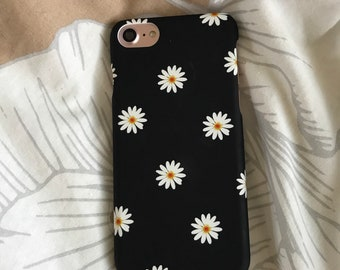 Instant dispatch iPhone case for iPhone 7 8 orher models available modern abstract mosaic floral flower daisy petal