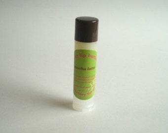 MOCHA LATTE - Silky Lip Butter - all-natural coffee flavor