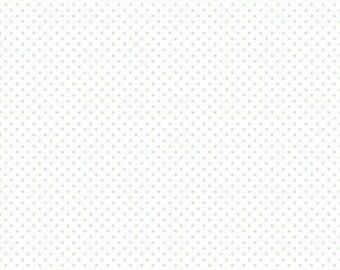 1 Yard- MINT Swiss Dot by Riley Blake Designs- 660-38