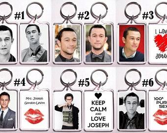 Joseph Gordon Levitt Acrylic Keychain - Choose Your Favorite From 6 Different Designs