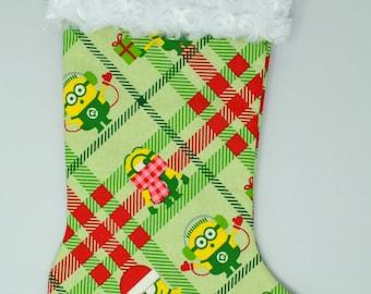 Merry Minions Stocking