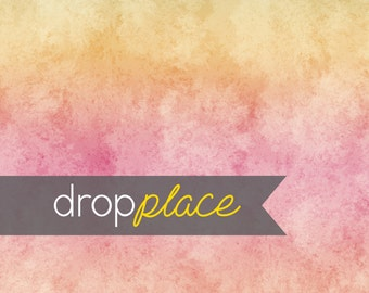 Backdrop Abstract Pastel Yellow Pink Background Floor Drop Dance Party Photo Booth Photo Prop (Multiple Sizes Available)