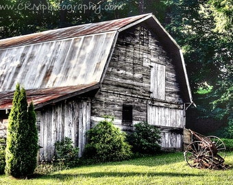 Rustic Barn and Equipment in Maggie Valley, NC